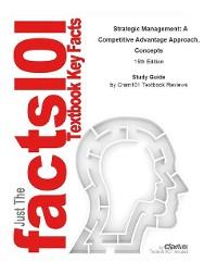 Cover Strategic Management, A Competitive Advantage Approach, Concepts