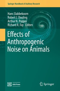 Cover Effects of Anthropogenic Noise on Animals