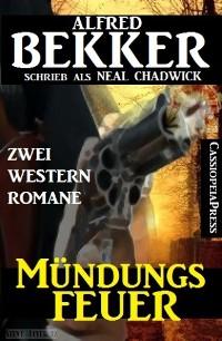 Cover Mündungsfeuer: Zwei Western Romane