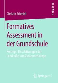Cover Formatives Assessment in der Grundschule