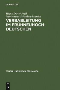 Cover Verbableitung im Frühneuhochdeutschen