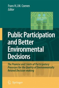 Cover Public Participation and Better Environmental Decisions