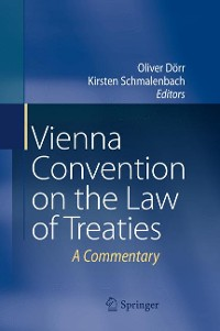 Cover Vienna Convention on the Law of Treaties