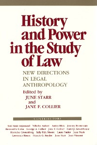 Cover History and Power in the Study of Law
