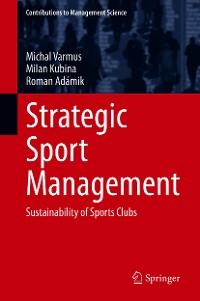 Cover Strategic Sport Management