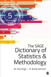 Cover SAGE Dictionary of Statistics & Methodology