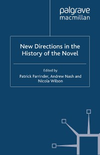 Cover New Directions in the History of the Novel