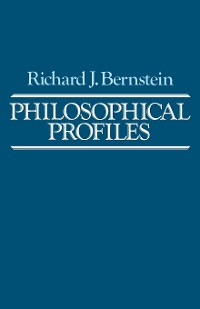 Cover Philosophical Profiles
