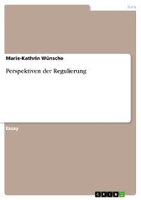 Cover Perspektiven der Regulierung