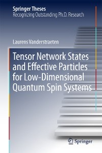 Cover Tensor Network States and Effective Particles for Low-Dimensional Quantum Spin Systems