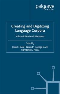 Cover Creating and Digitizing Language Corpora