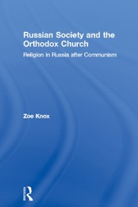 Cover Russian Society and the Orthodox Church