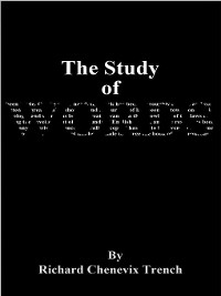 Cover The Study of Words