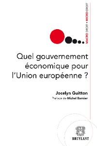 Cover Quel gouvernement économique pour l'Union européenne