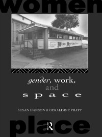 Cover Gender, Work and Space