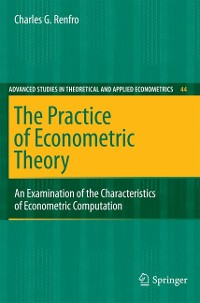 Cover The Practice of Econometric Theory