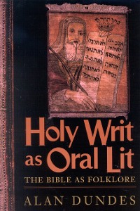 Cover Holy Writ as Oral Lit