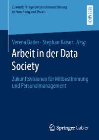 Cover Arbeit in der Data Society