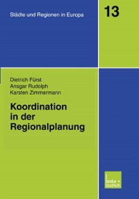 Cover Koordination in der Regionalplanung