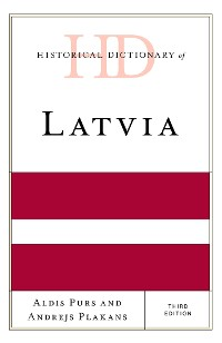 Cover Historical Dictionary of Latvia