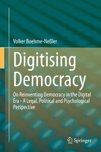 Cover Digitising Democracy