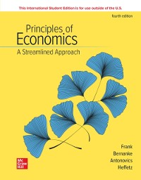 Cover ISE eBook Online Access For Principles of Economics, A Streamlined Approach