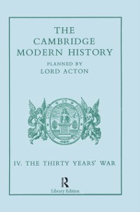 Cover Cambridge Modern History