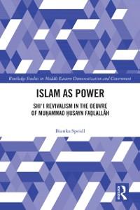 Cover Islam as Power