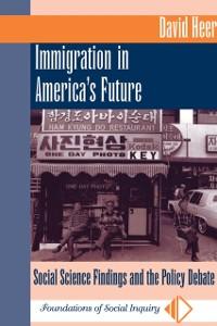 Cover Immigration In America's Future
