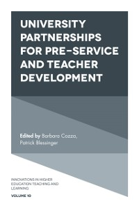 Cover University Partnerships for Pre-service and Teacher Development