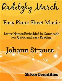 Cover Radetzky March Easy Piano Sheet Music