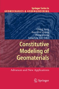 Cover Constitutive Modeling of Geomaterials