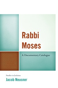 Cover Rabbi Moses
