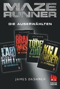 Cover Maze Runner - 4 x Die Auserwählten
