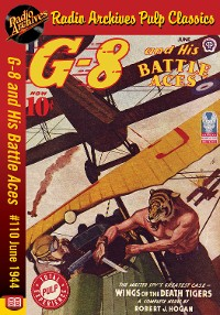 Cover G-8 and His Battle Aces #110 June 1944 W