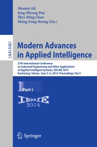 Cover Modern Advances in Applied Intelligence