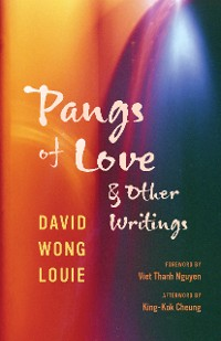 Cover Pangs of Love and Other Writings