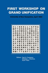Cover First Workshop on Grand Unification