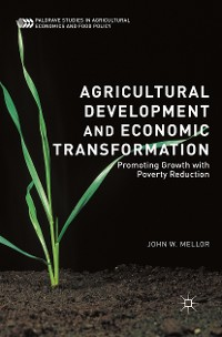 Cover Agricultural Development and Economic Transformation