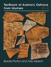 Cover Textbook of Aramaic Ostraca from Idumea, volume 4
