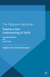 Cover Towards a New Understanding of Sraffa