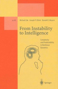 Cover From Instability to Intelligence