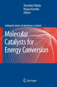 Cover Molecular Catalysts for Energy Conversion
