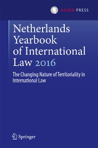 Cover Netherlands Yearbook of International Law 2016