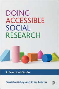 Cover Doing Accessible Social Research