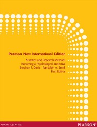 Cover Introduction to Statistics and Research Methods: Pearson New International Edition