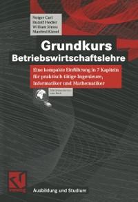 Cover Grundkurs Betriebswirtschaftslehre