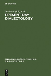 Cover Present-day Dialectology
