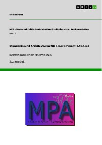 Cover Standards und Architekturen für E-Government SAGA 4.0