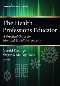 Cover The Health Professions Educator